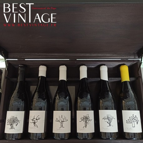 Usseglio Coffret Collection Châteauneuf-du-Pape 2015 - red wine