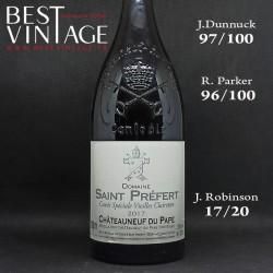 Saint Prefert Cuvée Spéciale Vieilles Clairettes Châteauneuf-du-Pape 2017 magnum - vin blanc
