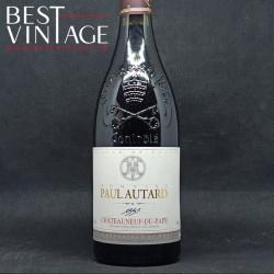 Paul Autard Châteauneuf-du-Pape 1998 - vin rouge