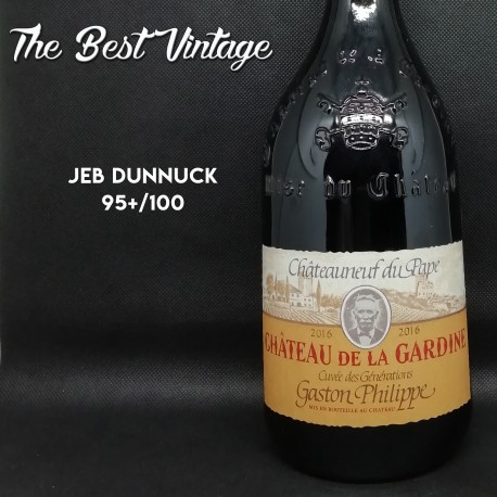 Gardine Gaston Philippe 2016 - vin rouge Chateauneuf du Pape