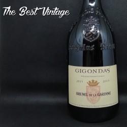 Brunel de la Gardine Gigondas 2015 - vin rouge Chateauneuf du Pape