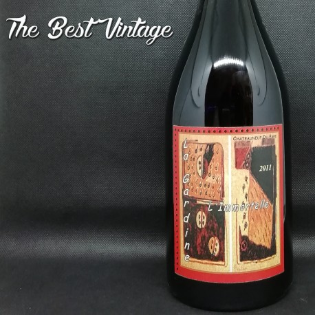 Gardine Immortelle 2011 - vin rouge Chateauneuf du Pape