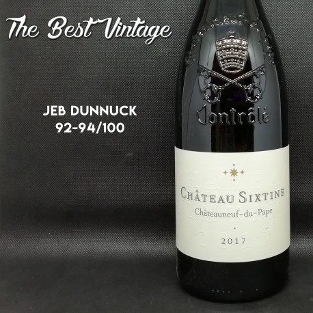Chateau Sixtine 2017- vin rouge