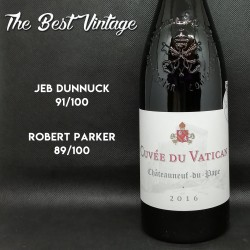 Cuvée du Vatican 2016 - red wine