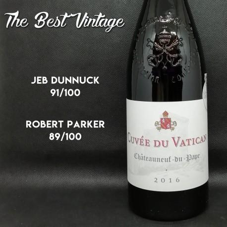 Cuvée du Vatican 2016 - red wine