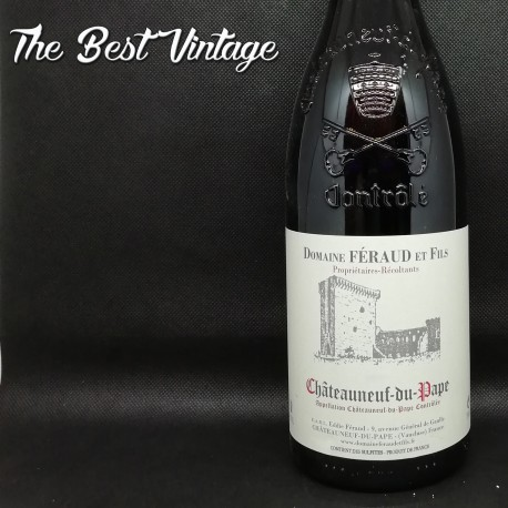 Eddie Feraud Tradition 2015 - vin rouge