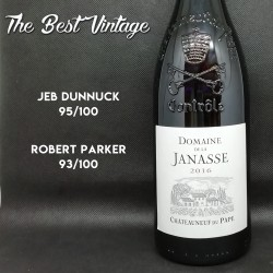 Janasse 2016 - red wine Chateauneuf du Pape