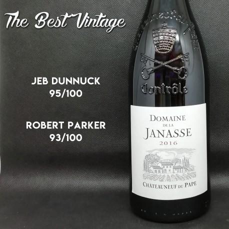 Janasse 2016 - vin rouge Chateauneuf du Pape