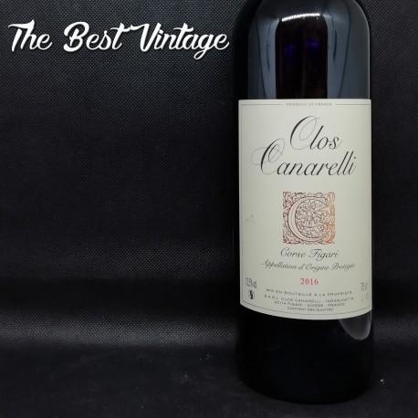 Clos Canarelli Figari 2016 - vin rouge