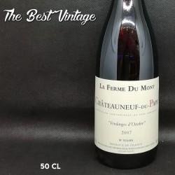 Ferme du Mont Châteauneuf-du-Pape Vendanges d'Octobre 2007 - 50cl - vin rouge
