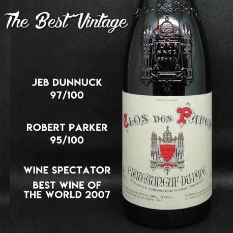 Clos des Papes 2005 - vin rouge chateauneuf du pape