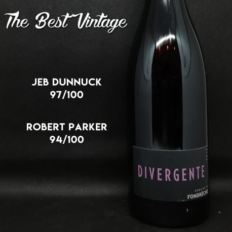 Fondreche Divergente 2015 - red wine
