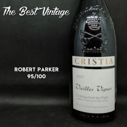 Cristia Vieilles Vignes 2012 - vin rouge