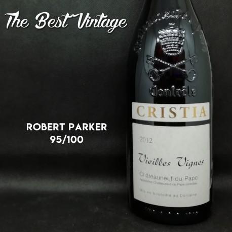Cristia Vieilles Vignes 2012 - vin rouge Chateauneuf du Pape