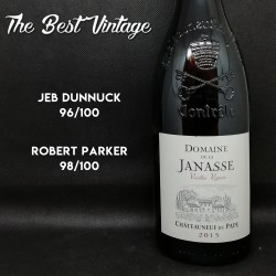 Janasse Vieilles Vignes 2015 - red wine