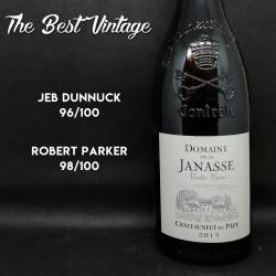 Janasse Vieilles Vignes 2015 - vin rouge