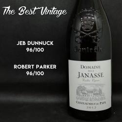 Janasse Vieilles Vignes 2012 - vin rouge Chateauneuf du Pape
