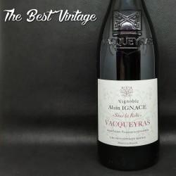 Ignace Alain Vacqueyras Sous la Robe 2016 - vin rouge