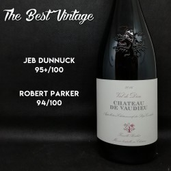 Vaudieu Val de Dieu 2015 - vin rouge Chateauneuf du Pape