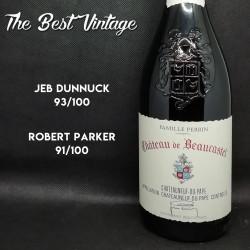 Beaucastel 1999 - vin rouge Chateauneuf du Pape