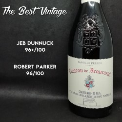 Beaucastel 2001 - red wine Chateauneuf du Pape