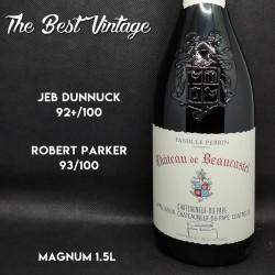 Beaucastel 2001 - vin rouge Chateauneuf du Pape