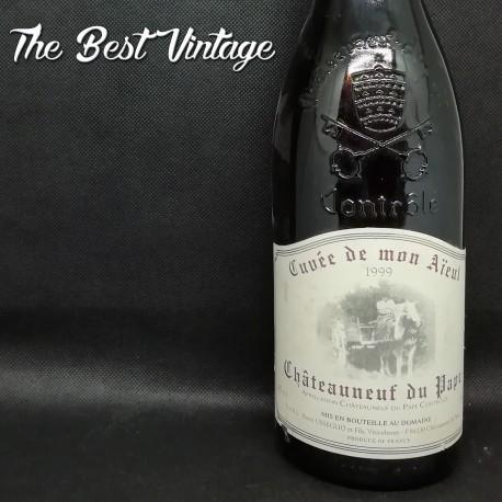 Usseglio cuvée de mon aieul 1999 - vin rouge