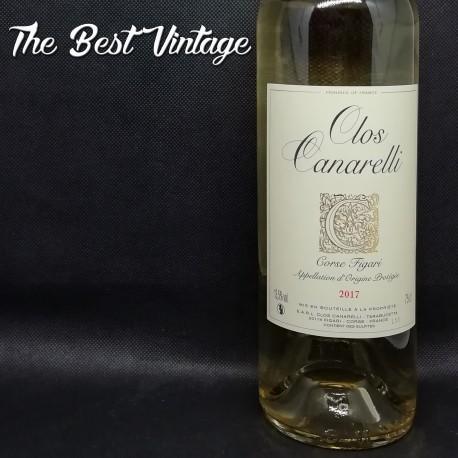 Clos Canarelli Figari 2017 - vin blanc