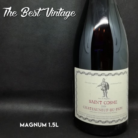 Saint Cosme 2009 Magnum - red wine