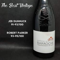 Barroche Châteauneuf-du-Pape Signature 2017 - red wine