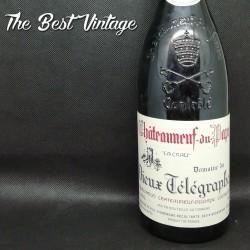 Vieux Télégraphe 2000 - vin rouge chateauneuf du pape