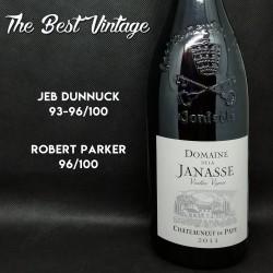 Janasse Vieilles Vignes 2011 - vin rouge Chateauneuf du Pape
