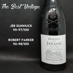 Janasse Vieilles Vignes 2017 - red wine