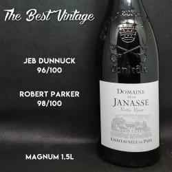 Janasse Vieilles Vignes 2015 Magnum - vin rouge Chateauneuf du Pape
