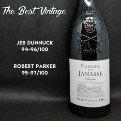 Janasse Chateauneuf du Pape Chaupin 2017 - vin rouge