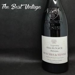 Ignace Alain Beaumes de Venise Helvétien 2017 - vin rouge