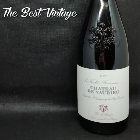 Vaudieu Vieilles Roussanes 2017 - white wine
