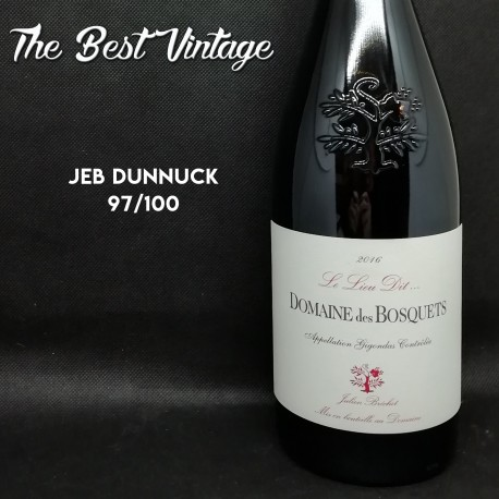 Bosquets Le Lieu dit 2016 - red wine
