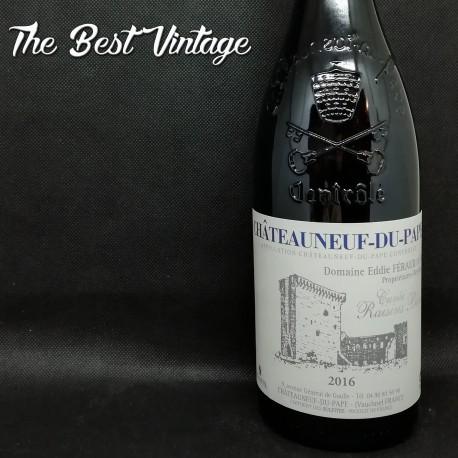 Eddie Feraud Raisins Bleues 2016 - vin rouge